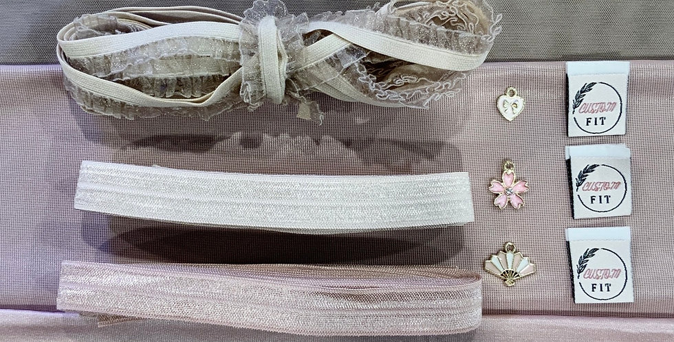 Dusty Rose Mottled Hand Dyed Knickers Kit…