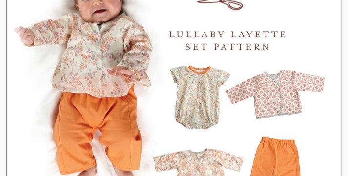 Oliver +S lullaby leyette set printed pattern