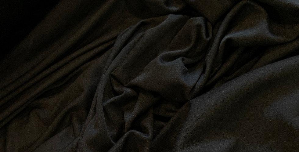 Ava Black Soft Knit Lining