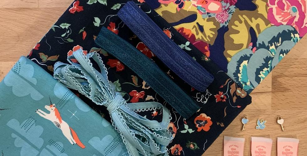 Flying Unicorns Art Gallery Fabrics Knickers Kit…