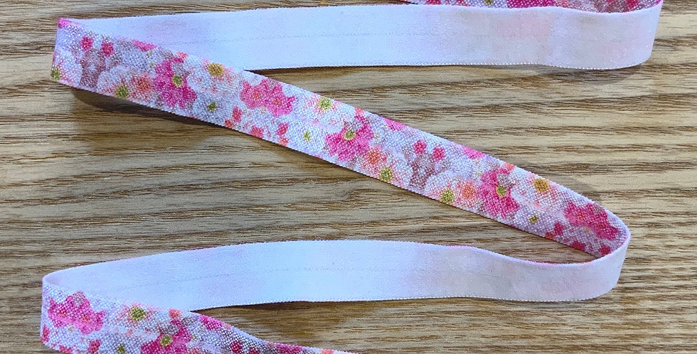 Gelato floral foldover elastic 4mtr Roll...