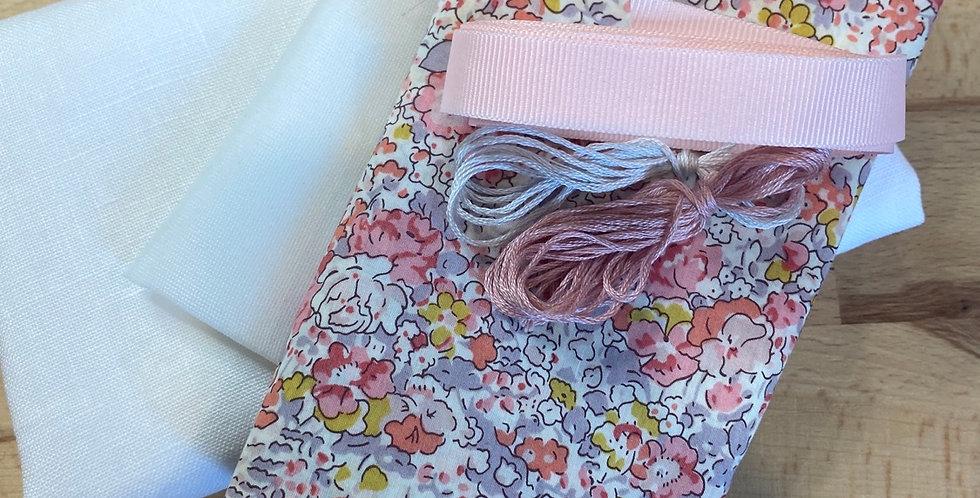 Claire Aude Liberty organic tana lawn bunny bag kit