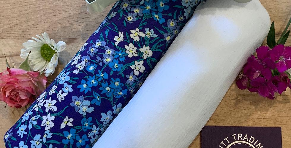 SEA BLOSSOMS BLUE Liberty Swim & Activewear Kit...