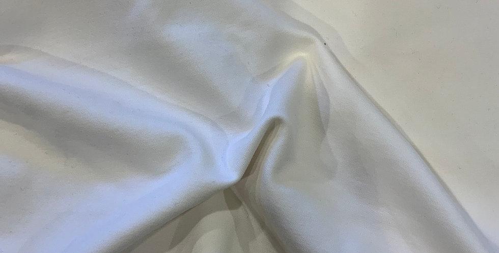 Ivory Ponte Knit Remnant