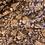Thumbnail: Folk Floral Cinnamon Crinkle Polyester Chiffon