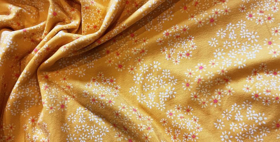 Art Gallery Fabrics Lacey Cosmos Oeko-Tex Cotton Spandex Knit...