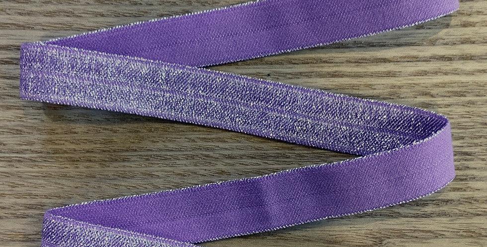 Lilac Shimmer Foldover Elastic...