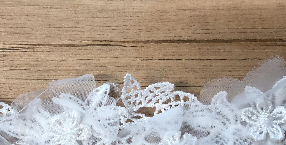 Snowflake 3D lace trim