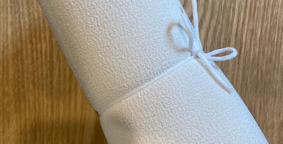 Bonded crepe backed foam