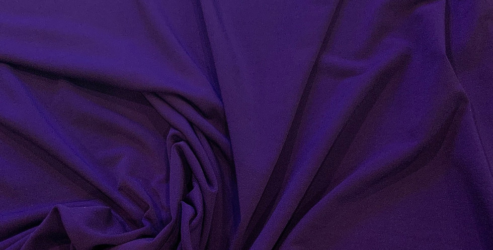 Purple Polyester Jersey Remnant