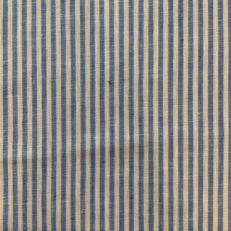 Thumbnail: Corfu Chambray Stripe Linen....