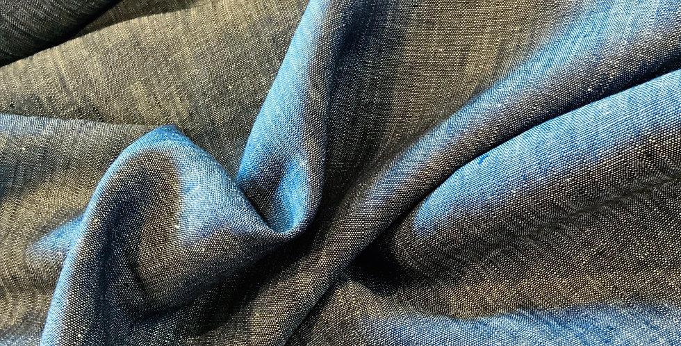 Indigo Textured Linen .....