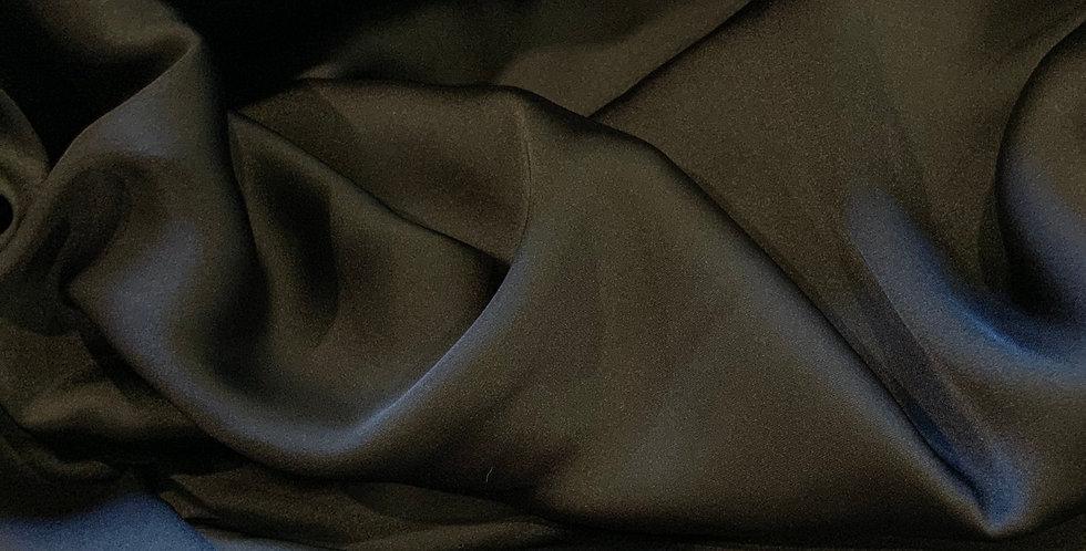 Super Fine Black Polyester Satin...