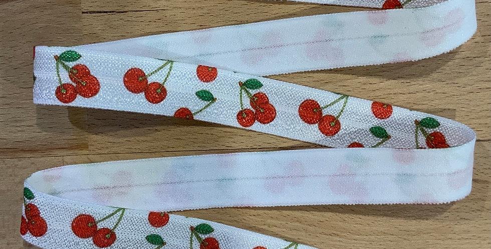 Cherries 15mm Foldover Elastic…