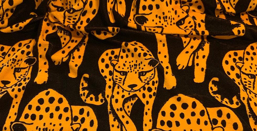 Paapii Cheetah Ochre Stretch Terry…