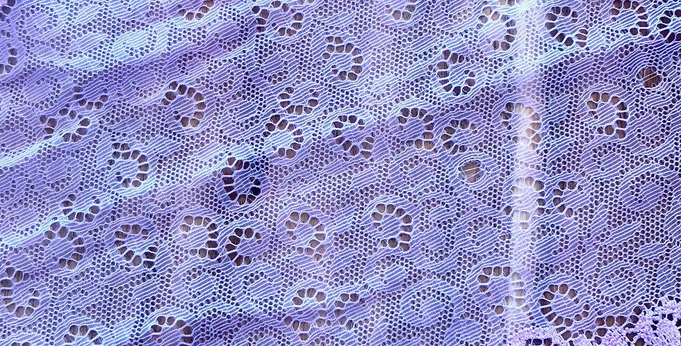 Lilac Scroll Stretch Lace....