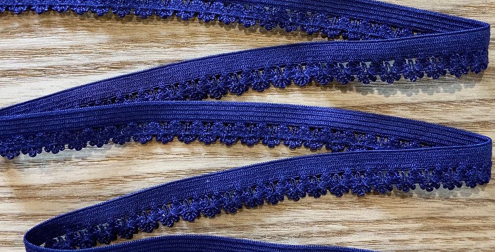 Ultra Violet Fancy Picket Edge Elastic...