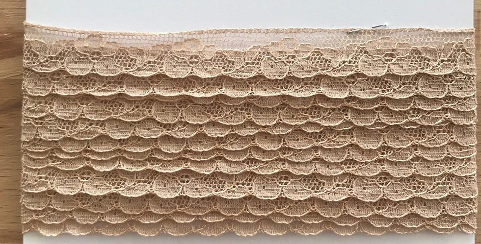 Vintage French lace remnant
