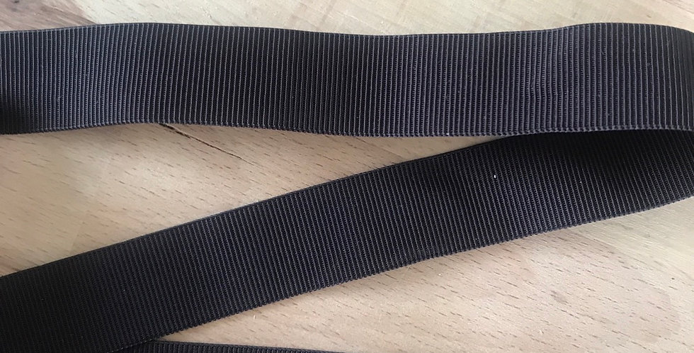 Chocolate self stripe elastic
