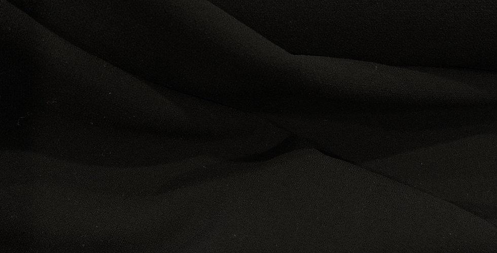 Jessica Black Polyester Crepe....
