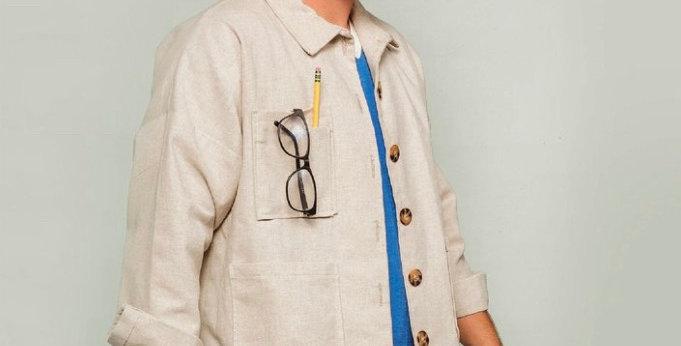 Friday pattern company Ilford jacket