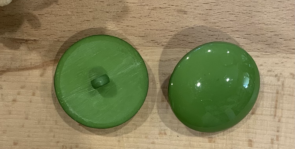 Large Apple Green Coat Button...