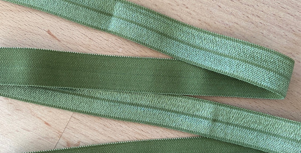 Willow 15mm fold over elastic