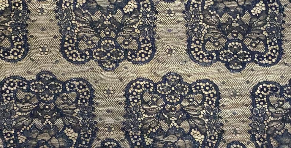Paris Shimmer Black Fine Stretch Lace...