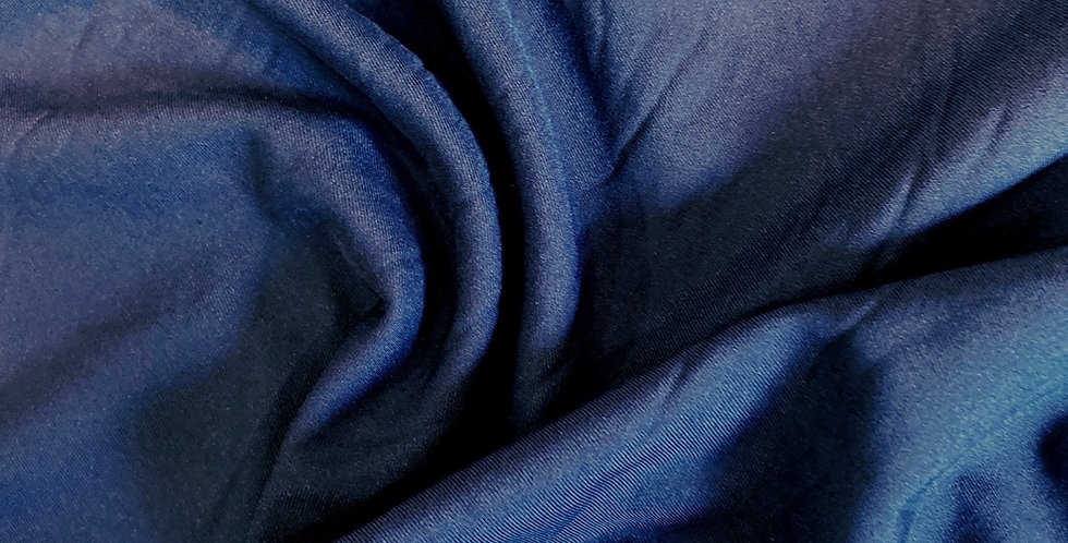 navy lightweight woven polyester remnant