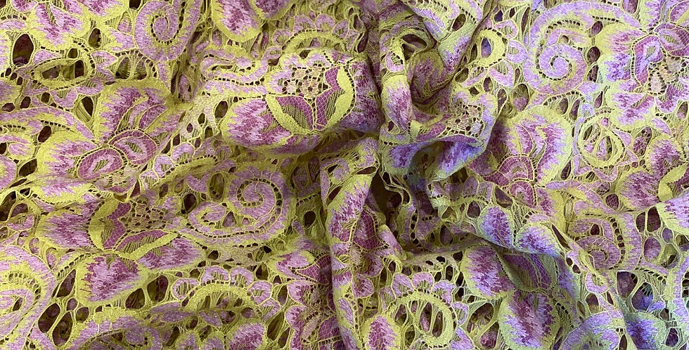 lime delight lace remnant