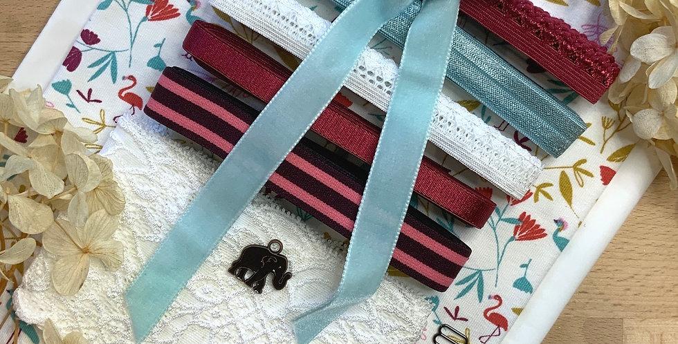 Safari French Cotton Spandex Lingerie Kit...