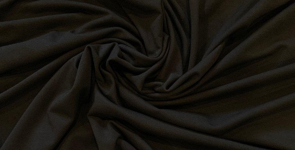 Softest Black Bamboo Single Knit Jersey...