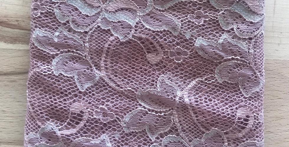 Designer lace remnant