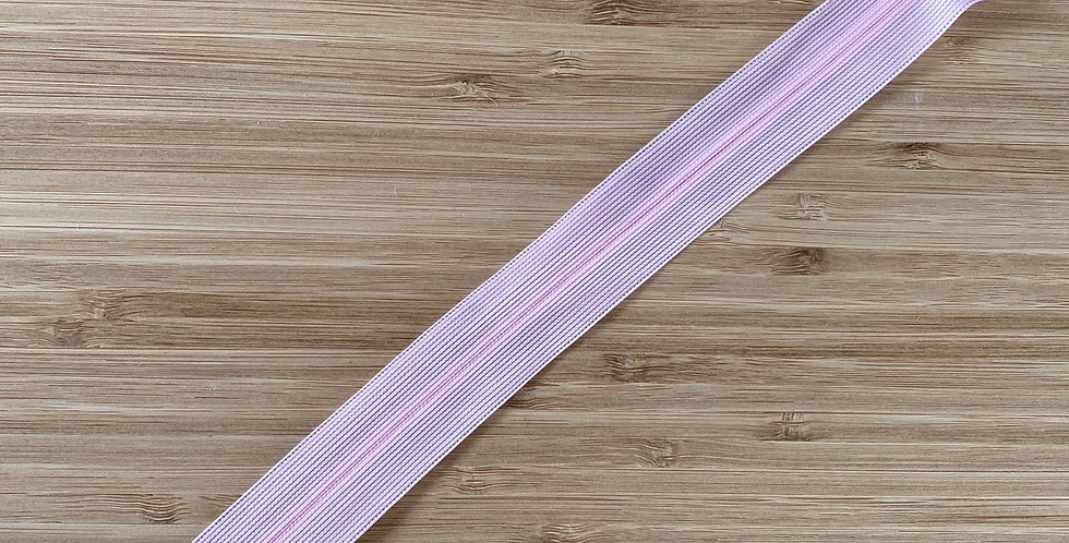 25cm pale pink invisible zip