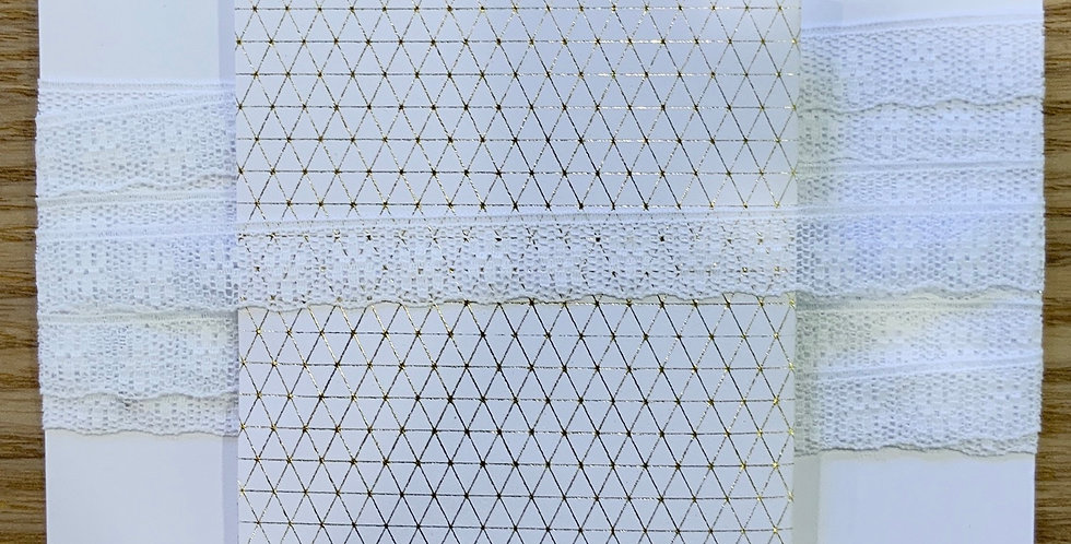 Vintage English Nylon Lace...