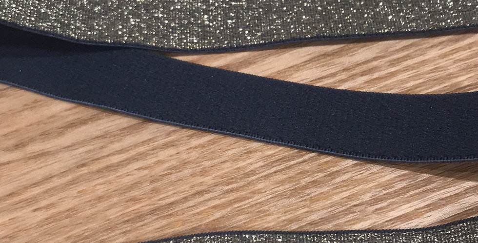 Grey Gold Glitter Strapping Elastic....