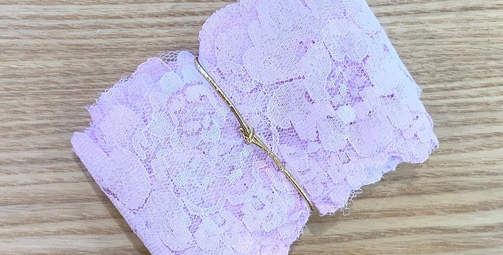 5mtr Bundle Lilac Roses Vintage Lace ...