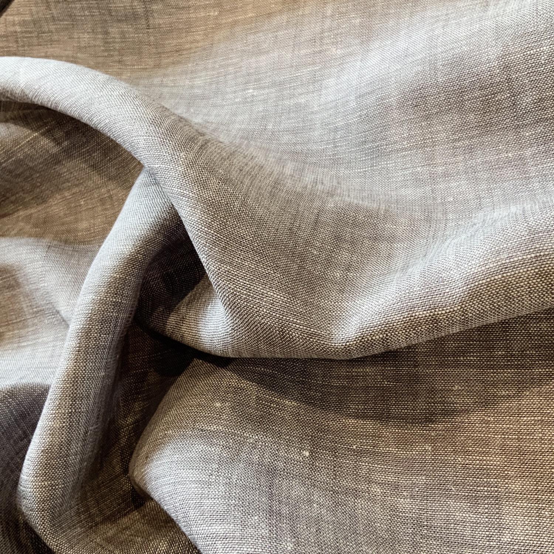 Grey Stone Yarn Dyed Linen....