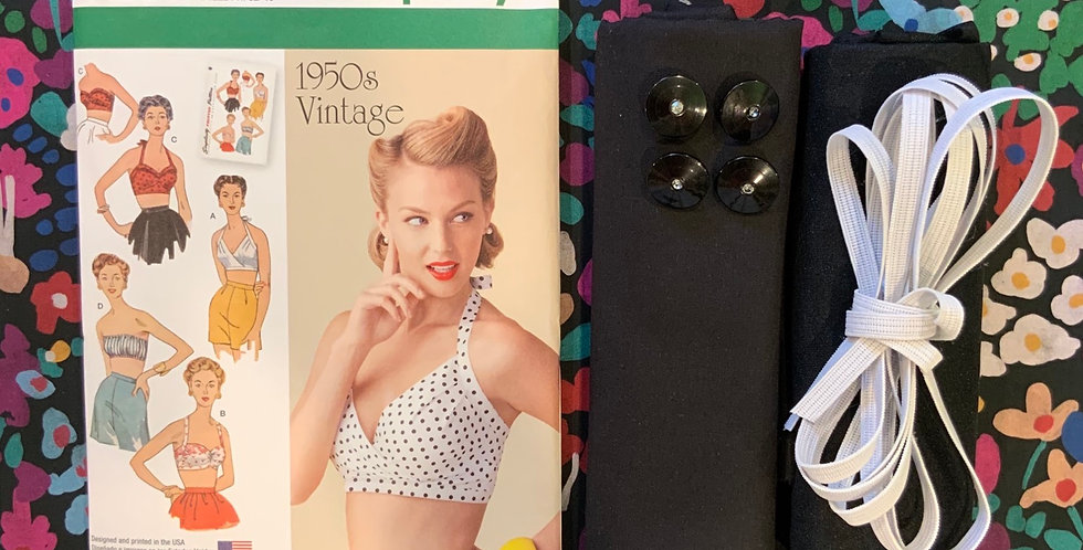 Lady McElroy Blush Blooms Vintage Bra Kit..