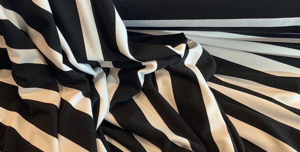 New York Stripe Polyester Jersey....