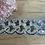 Thumbnail: Sequin Fans Embroidered Trim...