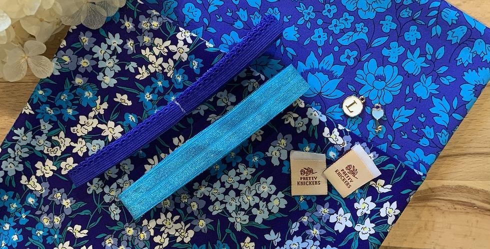 Liberty Blue Bloom Knickers Kit...