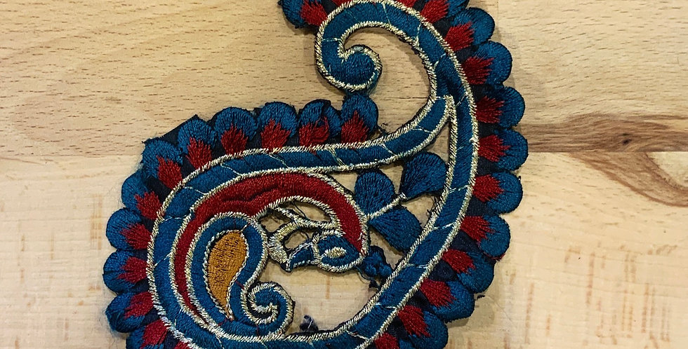 Paisley Embroidered Motif...