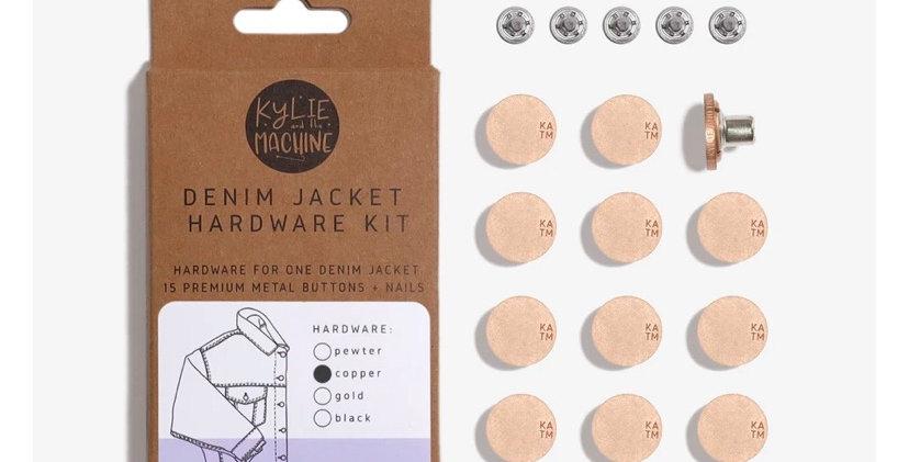 KATM denim jacket hardware kit COPPER