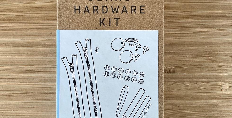 KATM jeans hardware kit navy pewter