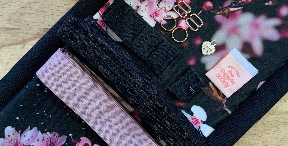 Pink Blossom Lily Bralette Kit