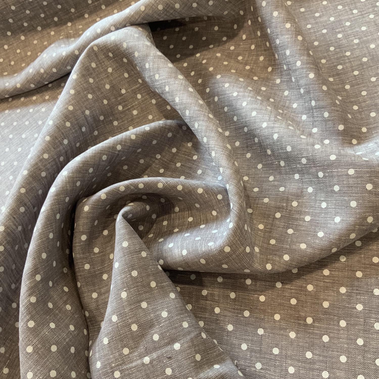 Grey Stone Spot Linen....