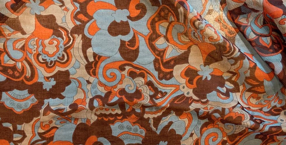 Bohemian Vibes Silk Chiffon...