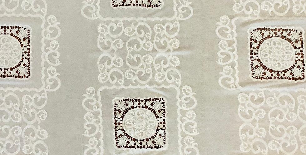Bijou Cream Embroidered Viscose Jersey ...