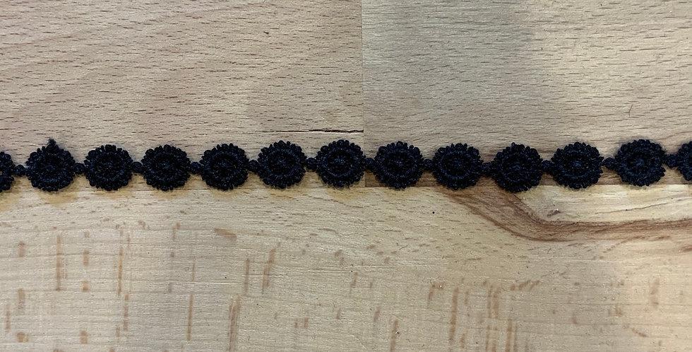 Black Flower Drop Mini